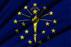 flagga indiana Arkivbilder
