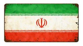 flagga iran royaltyfri foto