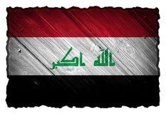 flagga iraq Royaltyfria Foton