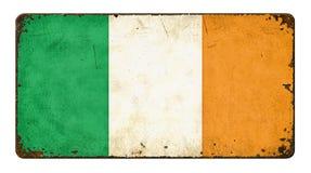 flagga ireland Fotografering för Bildbyråer