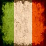 flagga ireland vektor illustrationer