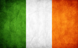 flagga ireland Arkivbild