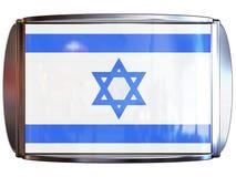 flagga israel till Royaltyfri Fotografi