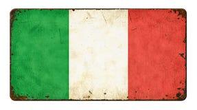 flagga italy Arkivbild