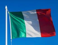 flagga italy Fotografering för Bildbyråer