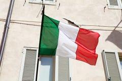 flagga italy Royaltyfri Foto