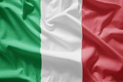 flagga italy Royaltyfri Fotografi