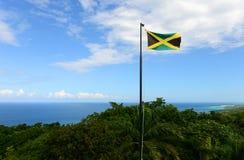 flagga jamaica Arkivbilder