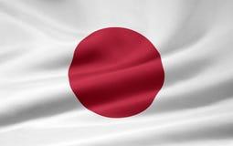 flagga japan vektor illustrationer