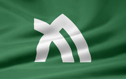 flagga japan kagawa Arkivbilder