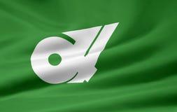 flagga japan mie Arkivfoto