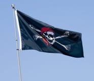 flagga jolly roger arkivbild