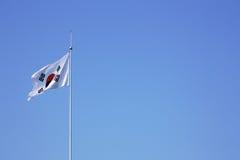 flagga korea Arkivbilder