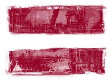 flagga latvia Royaltyfri Fotografi