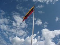 flagga lithuania Royaltyfri Foto