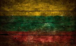 flagga lithuania Arkivbilder