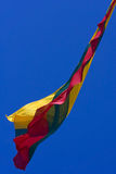 flagga lithuania Royaltyfri Bild