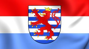 flagga luxembourg royaltyfri illustrationer