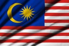flagga malaysia Royaltyfri Bild