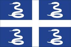 flagga martinique Arkivfoto
