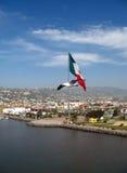 flagga mexico Arkivfoton