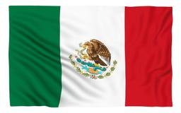 flagga mexico Royaltyfri Foto