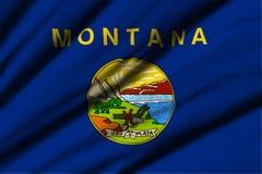 flagga montana Royaltyfria Foton