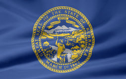 flagga nebraska Royaltyfria Foton