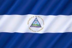 flagga nicaragua royaltyfria bilder