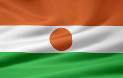 flagga niger Royaltyfria Bilder