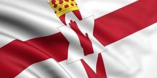 flagga nordliga ireland vektor illustrationer