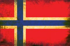 flagga norway vektor illustrationer
