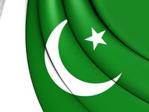 flagga pakistan vektor illustrationer