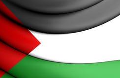 flagga palestine royaltyfri illustrationer