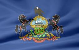 flagga pennsylvania Royaltyfria Bilder