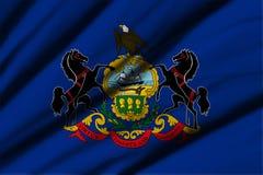 flagga pennsylvania Arkivfoton