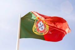 flagga portugal Fotografering för Bildbyråer
