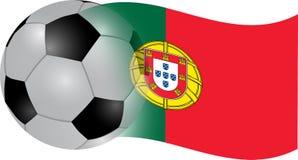 flagga portugal vektor illustrationer