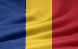 flagga romania Royaltyfria Foton