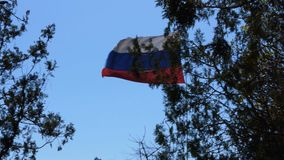 flagga russia lager videofilmer