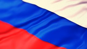 flagga russia royaltyfri illustrationer