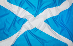 flagga scotland Royaltyfria Bilder