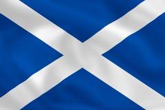 flagga scotland Royaltyfri Fotografi