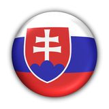 flagga slovakia Royaltyfria Foton