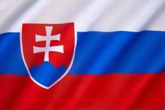 flagga slovakia Royaltyfri Foto