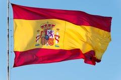 flagga spain Royaltyfri Fotografi