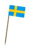 flagga sweden Royaltyfria Bilder