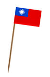 flagga taiwan Arkivbilder