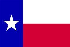 flagga texas Royaltyfri Bild
