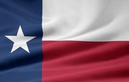 flagga texas Arkivbilder